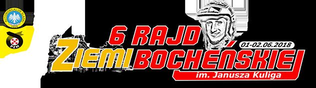 6. Rajd Ziemi Bocheńskiej im. Janusza Kuliga